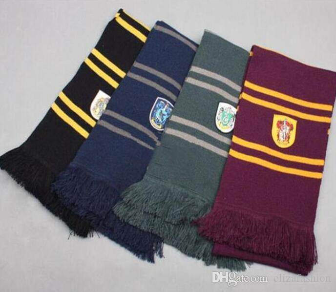 Harry Potter Scarves Ravenclaw Scarf Accessories Gryffindor Scarf