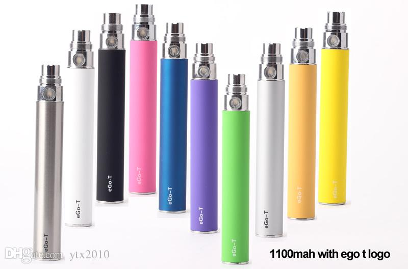 EGO Batterie pour Cigarette électronique E-cig Ego-T 510 fil CE4 atomiseur CE5 clearomiseur CE6 Vivi nova MT3 650 mah 900 mah 1100 mah