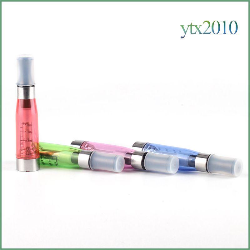 Ce5 no stoppino atomizzatore sigaretta elettronica 1.6 ml vaporizzatore 2.4ohm penna vape ego t batteria EVOD Ce5 Clearomizer
