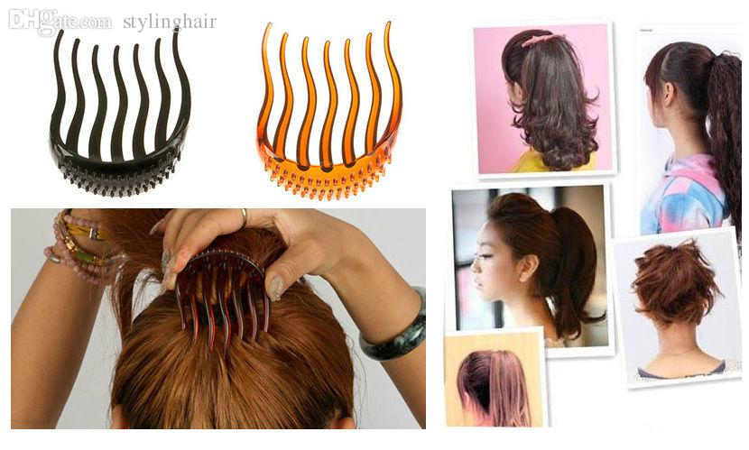 Wholesale Bump It Up Volume Inserts Hair Clip For Ponytail Bouffant