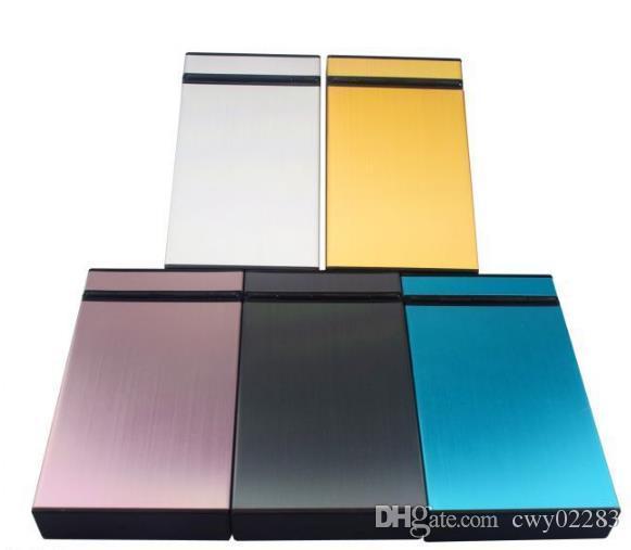 플라스틱 담배의 판매를위한 특별한 다양한 박스 상자는 플립 플립 모양의 얇은 박스에 20 개비의 독창적 인 종이팩, 무작위 스타일