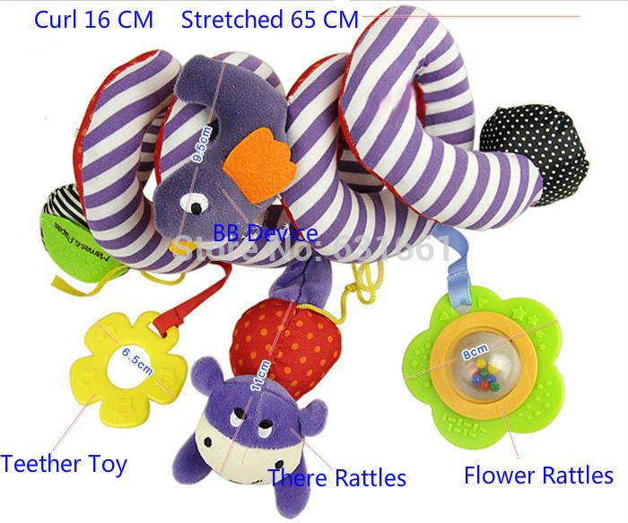 2014 New ,baby rattle toys 0-12 months mobile musical babys bed car hanging toy for Baby Rattles mobiles brinquedos bebe