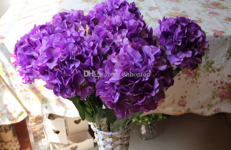 Silk flower ball decorate flower artificial flower good quality for wedding garden market decoration