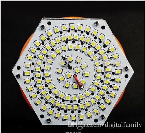 L'ampoule menée superbe lumineuse de maïs E27 E40 B22 60W 80W 100W 120W a mené l'angle léger SMD de maïs de maïs 2835 a mené l'éclairage de lampe pour le réverbère 100-300V de DHL