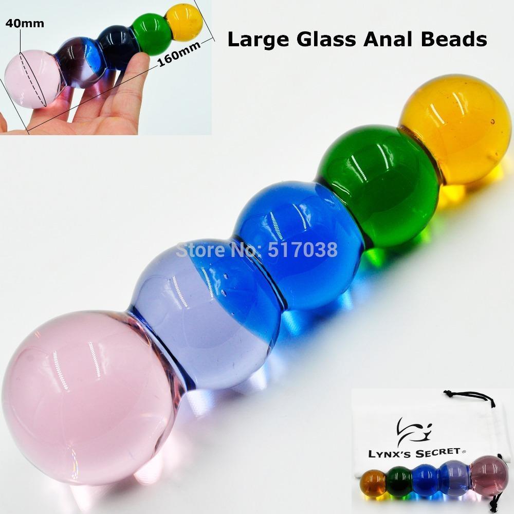 Lesbians butt beads