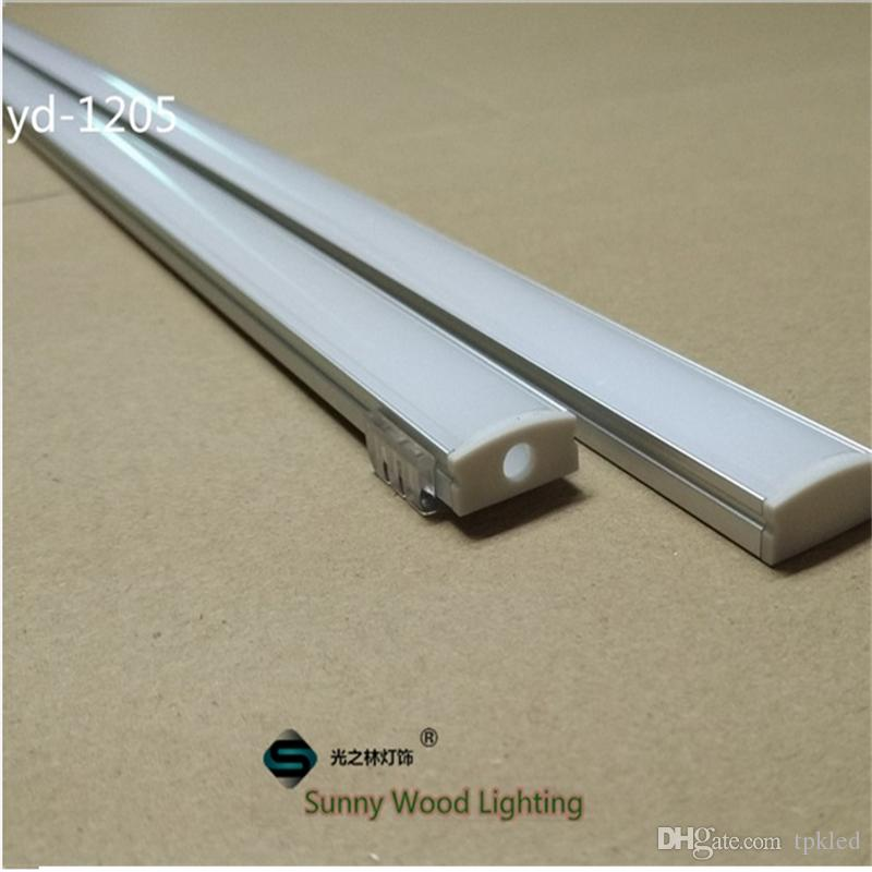 10set/lot 2m led aluminium profile for led bar light, led strip aluminum  channel, waterproof aluminum housing Sunny Wood YD-1205-F