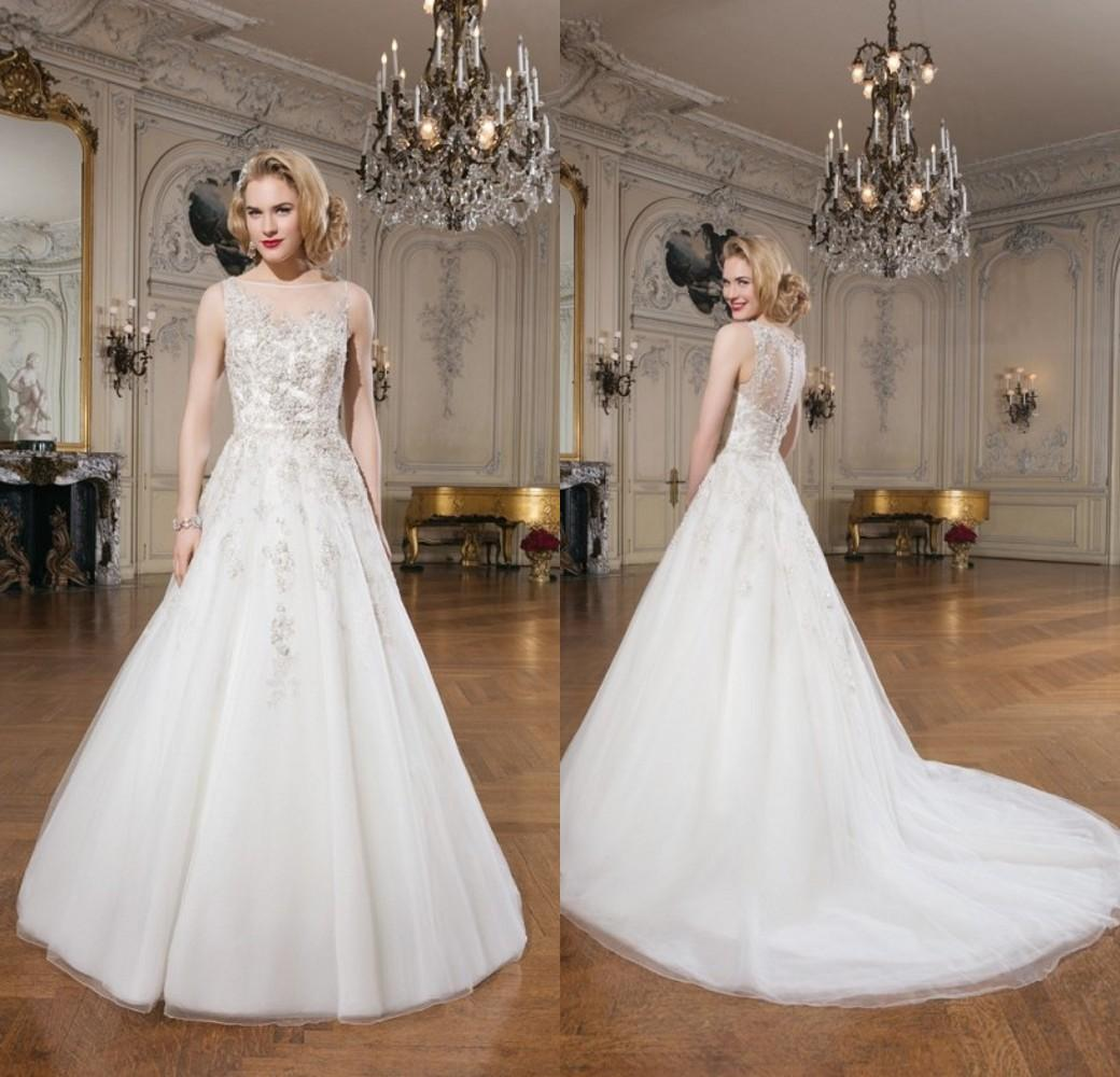 2015 christmas wedding dresses justin alexander a line sheer 2015 christmas wedding dresses justin alexander a line sheer bateau neckline covered button chapel train bridal gowns dhyz 2015 wedding dresses justin ombrellifo Images