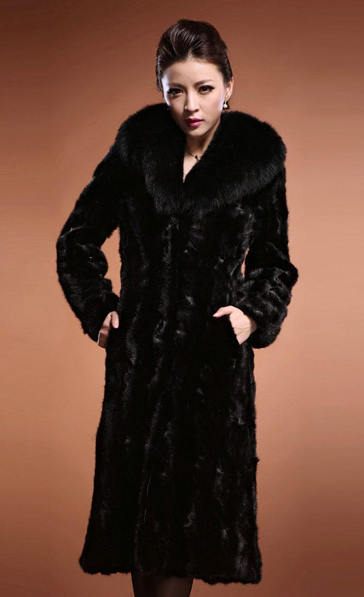 2018 Warm Mink Coats Women Fur Coat Faux Women Fur Coat Mink Fur ...