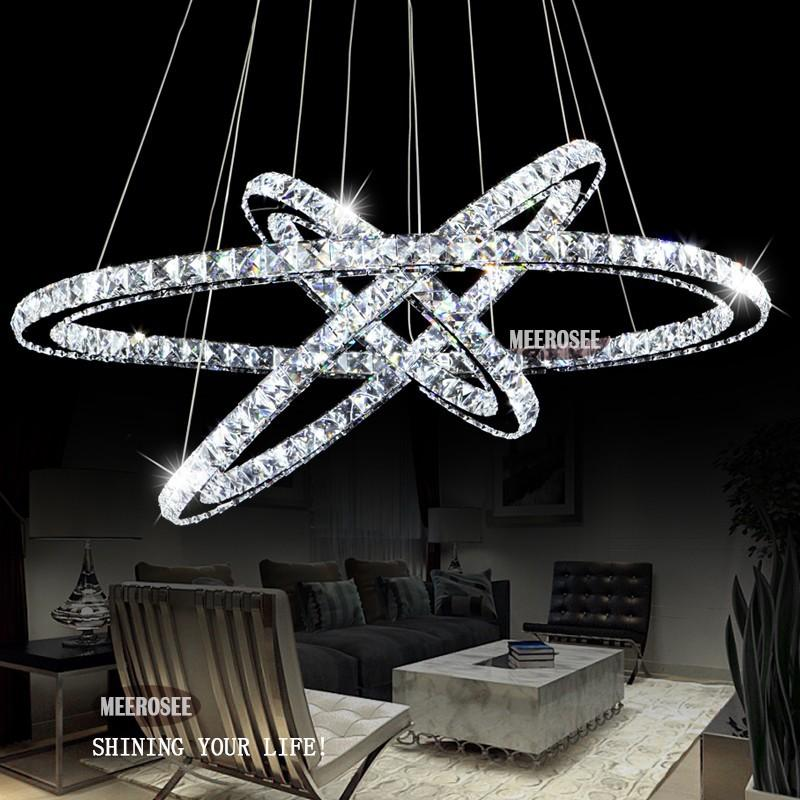 Great Hot Selling 3 Diamond Ring Crystal Light Fixture, Led Pendant Light  Suspension Lumiere Modern Led Lighting Circles Lamp Ceu0026Rohs Outdoor Chandelier  Dining ...