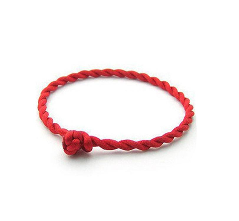 004 Hand-woven rope natal bright red string for security and peace 2 yuan shop stall supply wholesale