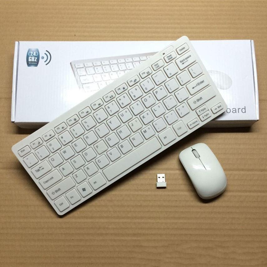 online cheap ultra slim portable wireless keyboard and mouse combo for desktop pc windows 7. Black Bedroom Furniture Sets. Home Design Ideas
