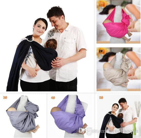 2018 New Baby Cotton Carriers Ring Slings Toddler Infant Comfortable