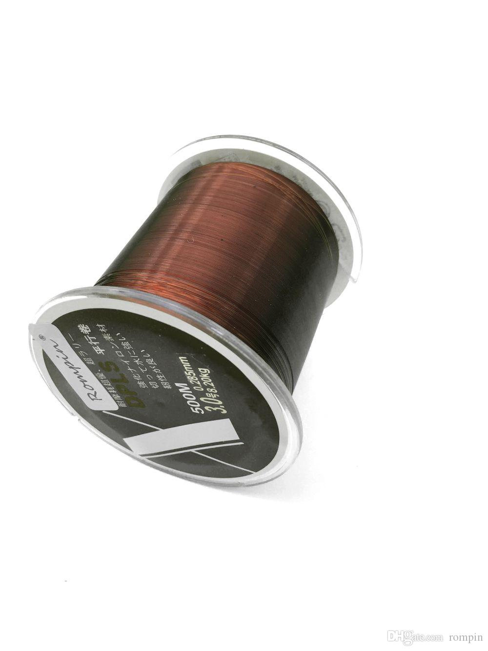 500m fishing line Nylon Fishing Line Japan Imported Raw Material Strong Monofilament Thread for Carp Fishing