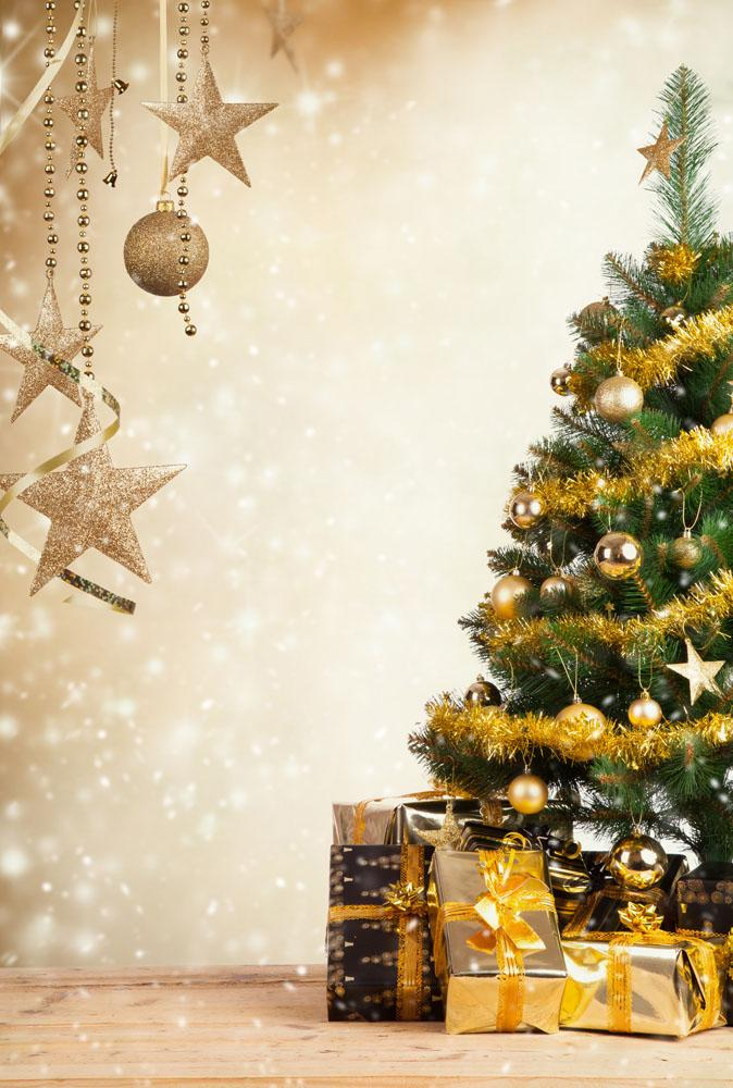 christmas theme vinyl custom photography backdrop prop photo studio
