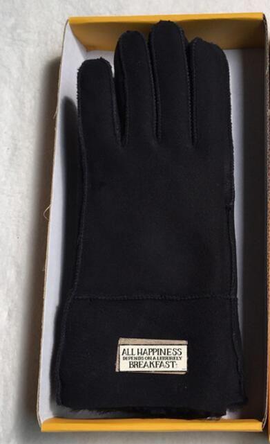 Hot! Winter New outdoor warm Snow gloves Sheepskin Women Gloves Warm wind glove fashion five fingers frosted gloves