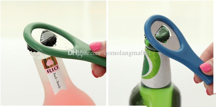 Hot sale Portable Beer bottle opener easy and practical Beer Bottle tools Household kitchen supplies