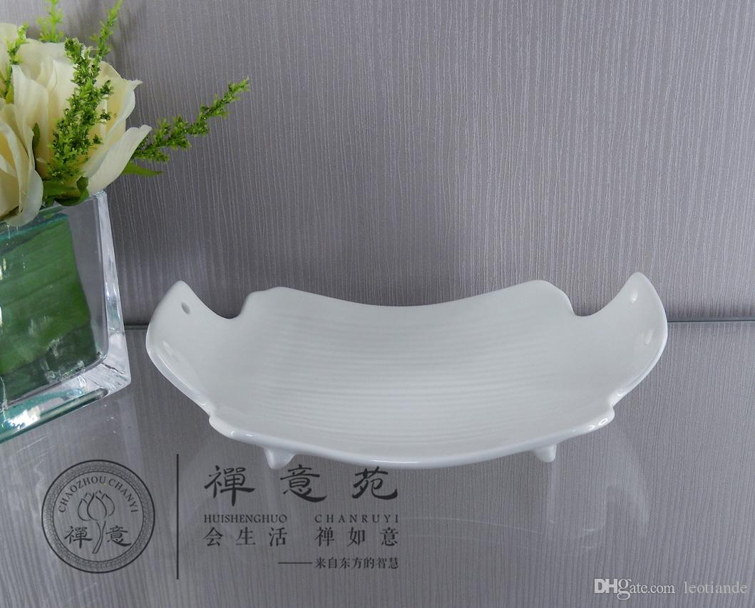 2018 9 Boat Shaped Bend Plate Dinner Plate Quality Cutlery Tableware ...