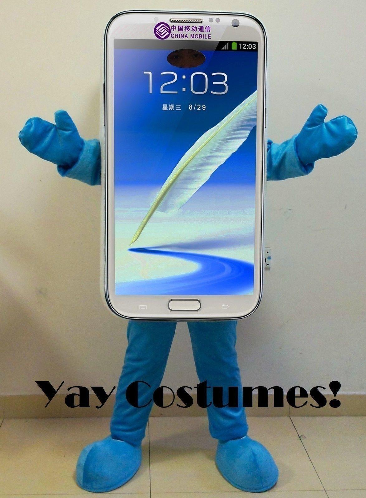 mascot costume cell phone samsung galaxy s4 adult size sale ems online with 29028piece on oilandwatchess store dhgatecom