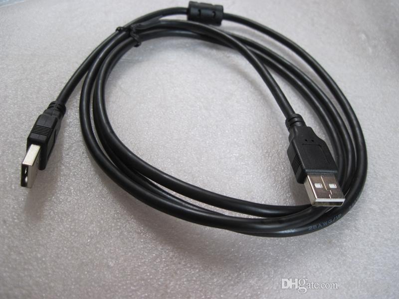 검은 색 1.5m 3m USB 2.0 수 남성 대 M 연장 케이블 컴퓨터 확장 커넥터 어댑터 케이블 코드 와이어