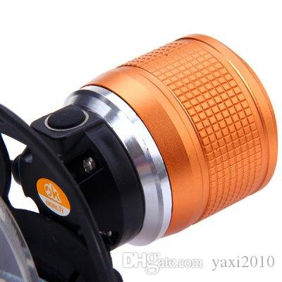TOP quality Boruit 2000 Lumens Cree XM-L T6 Zoomable LED Headlamp Rechargeable Headlight Cycling Light + Charger