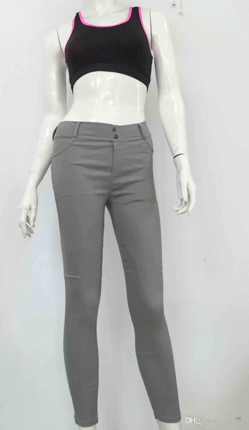 Hot Sexy Frauen Butt Lift Hosen Kolumbianischen Brasilianischen Stil Stretchy Skinny Leggings Bleistift Dünne Jeans Dünne Capris Hose WK5001