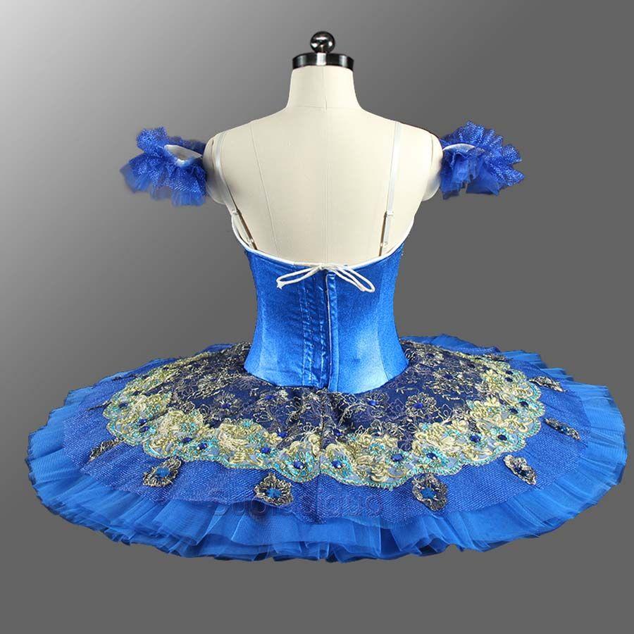 Tutu di balletto professionale adulti blu navy donne Le Corsaire balletto classico tutu ballerina costumi di scena tutu dress SD0074