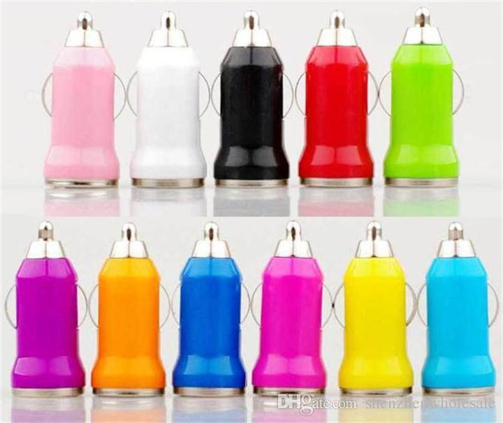 3 in 1 Şarj Mikro V8 USB Veri Kablosu + Mini Araç Şarj + AC AB ABD Duvar Adaptörü Samsung S4 S3 S5 HTC Cep telefonu Renkli leri
