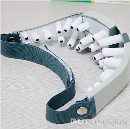 Nieuwe masker Migraine-adapter of batterij elektrische zorg voorhoofd oog massager gereedschap ontspan je oog en hersenen