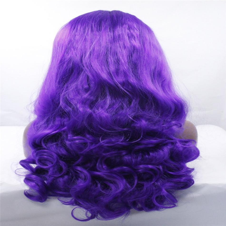 kabell peluca de moda lave pelucas delanteras peluca rosa azul sintética con el pelo largo es de 26 pulgadas de largo peinado de la ola grande peluca de moda afroamericana