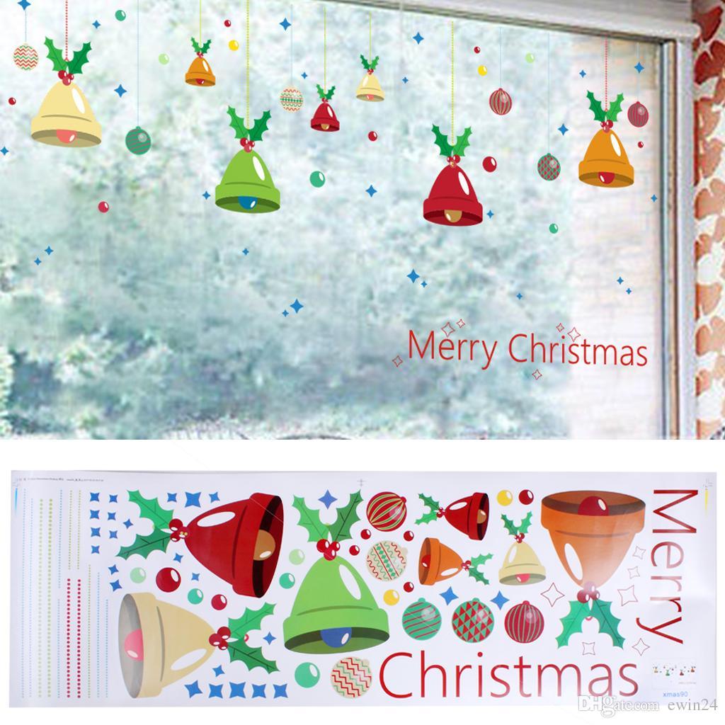 Removível Flocos De Neve Etiqueta Xmas Home Decor Wall Stickers Parede Da Janela Do Carro Interior Ao Ar Livre Decoração 3 Estilo