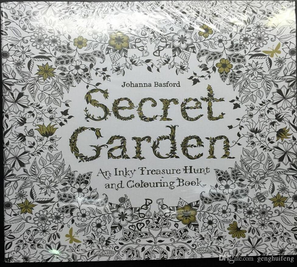 Secret Garden Adult Coloring Book Bulk Enchanted Forest Book New ...