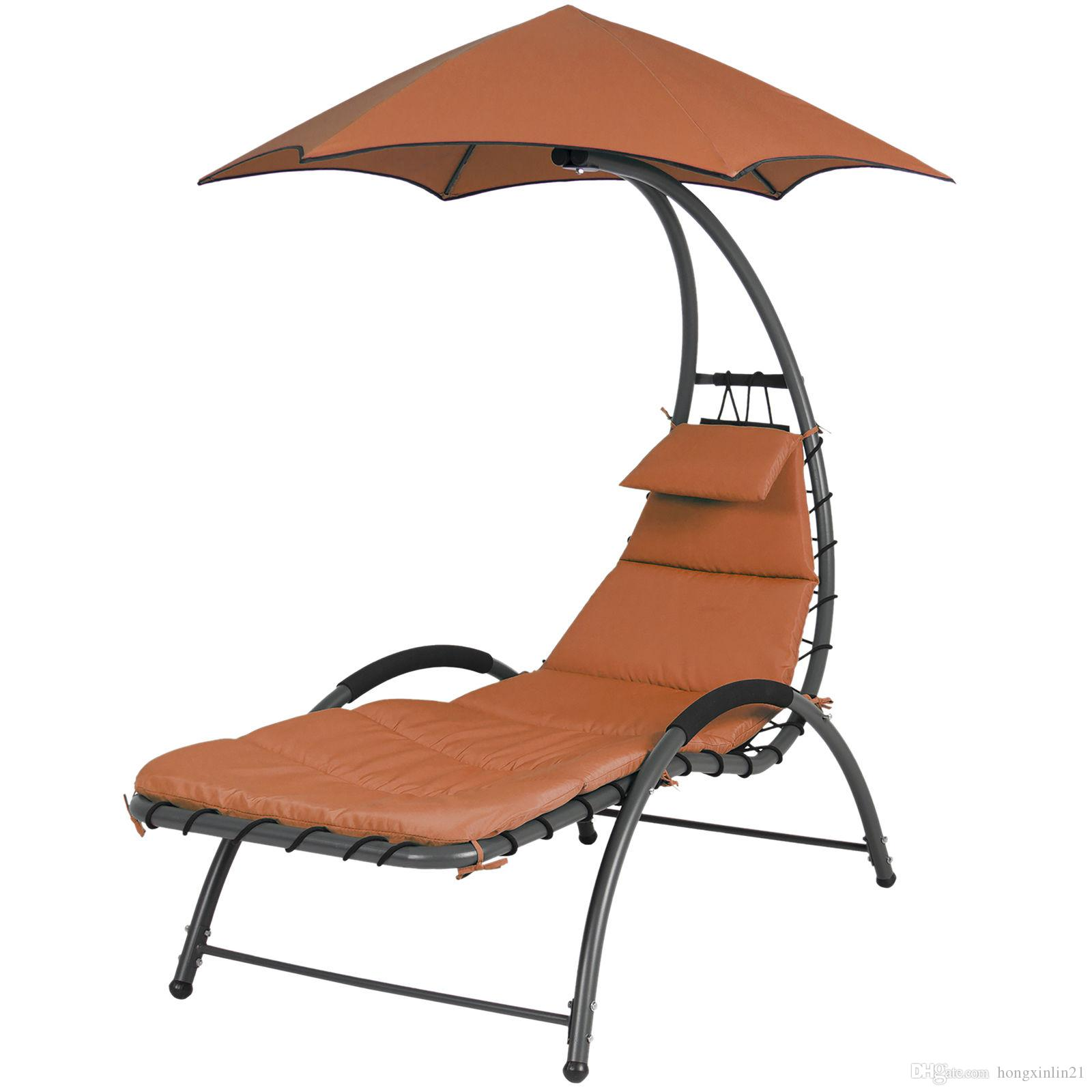 Online Cheap Arc Curved Hammock Dream Chaise Lounge Chair Outdoor Patio Pool  Furniture Orange By Hongxinlin21 | Dhgate.Com