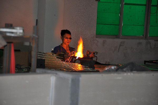 Ücretsiz Nakliye 100% Ağız Üflemeli Borosilikat Murano Cam Kolye Işık Sanat Murano Avize Kapalı Tavan Lambası