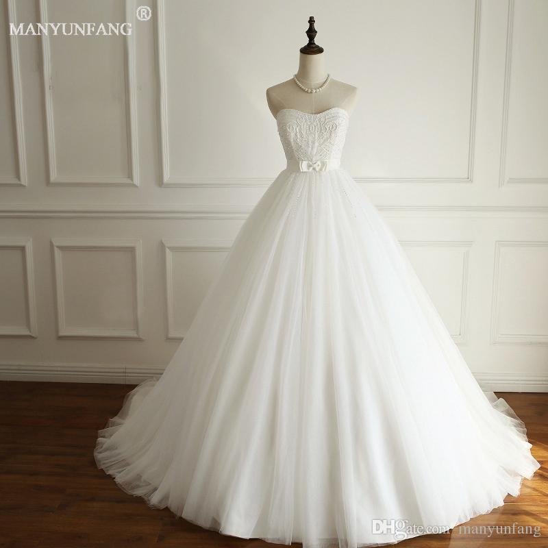 Discount 2018 Country Beautiful Wedding Dress Plus Size