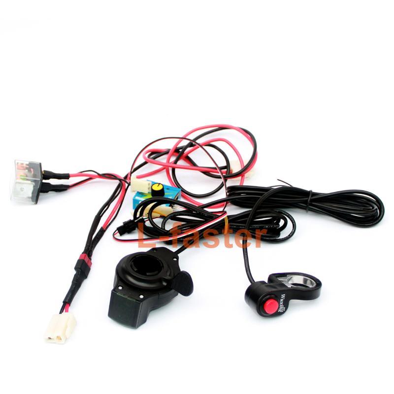 전기 타운 7XL 타운 9EF 스쿠터 벨트 드라이브 장치 용 ESC 및 스로틀 스위치가있는 L- 고속 맞춤형 속도 제어 시스템