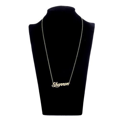 أزياء السيدات مجوهرات شخصية اسم قلادة علامة