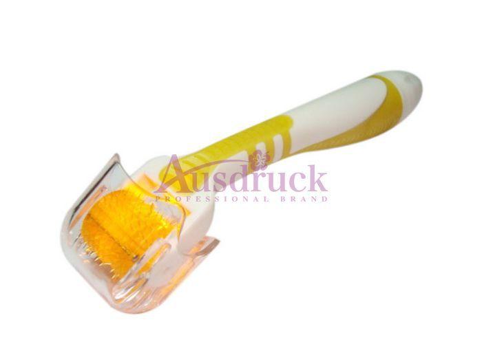 Vermelho Azul Verde Amarelo LED Photon Derma Roller 540 agulhas Microneedle dermaroller para a remoção do enrugamento da acne cuidados com a pele