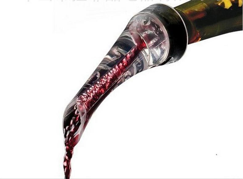 Becco Eagle Quick Aerating vino rosso Pourer Decanter Bottiglia di vino rosso Mini Aeratore da viaggio Strumenti di regali di Natale con confezione regalo