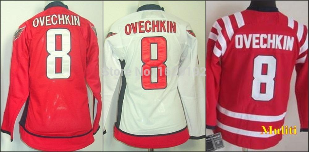 Cheap Sports Jerseys Kids Mens Womens Washington  8 Ovechkin Red White Usa  Youth Hockey Jerseys 2015 Winter Classic Wholesale UK 2019 From Cn Sell cf7c785c4d