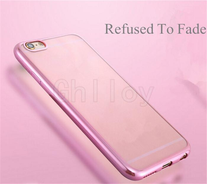 For iPhone 6s Bumper Case Slim Cases - Scratch Resistant Silicon Back Panel - Cover for Apple iPhone 6 4.7 inch