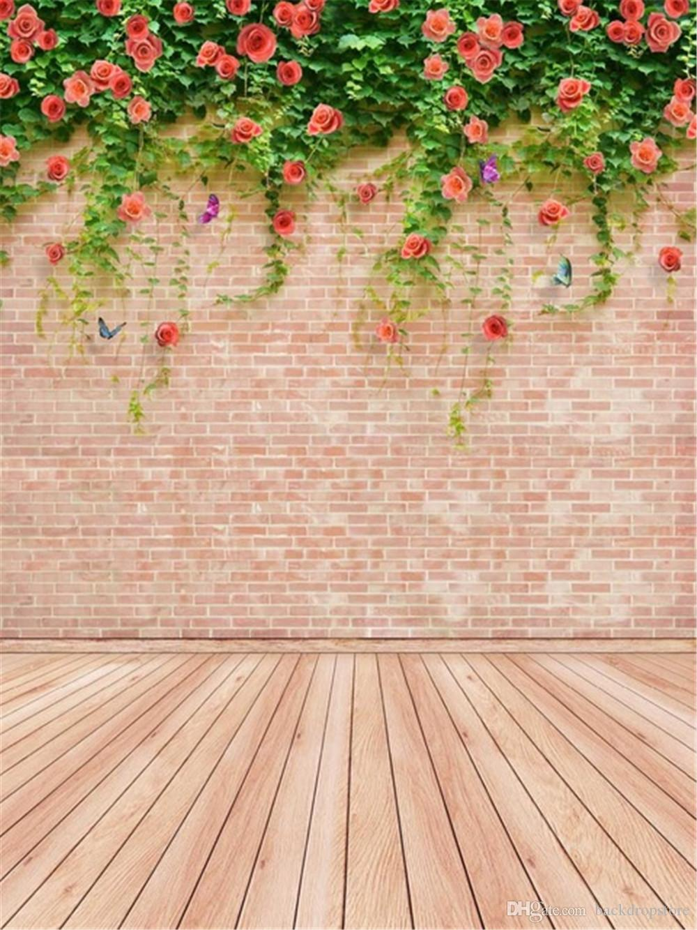 2019 Spring Flowers Wedding Photography Backdrops Vinyl