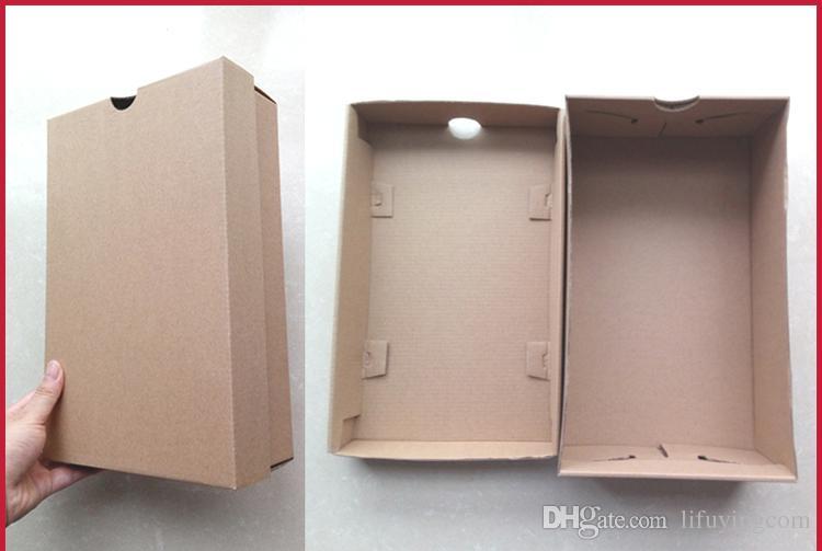 / 10 tailles Blanc Kraft Papier Boîtes Blanc Carton Emballage Boîte à chaussures Boîte Artisanat Partie Cadeau