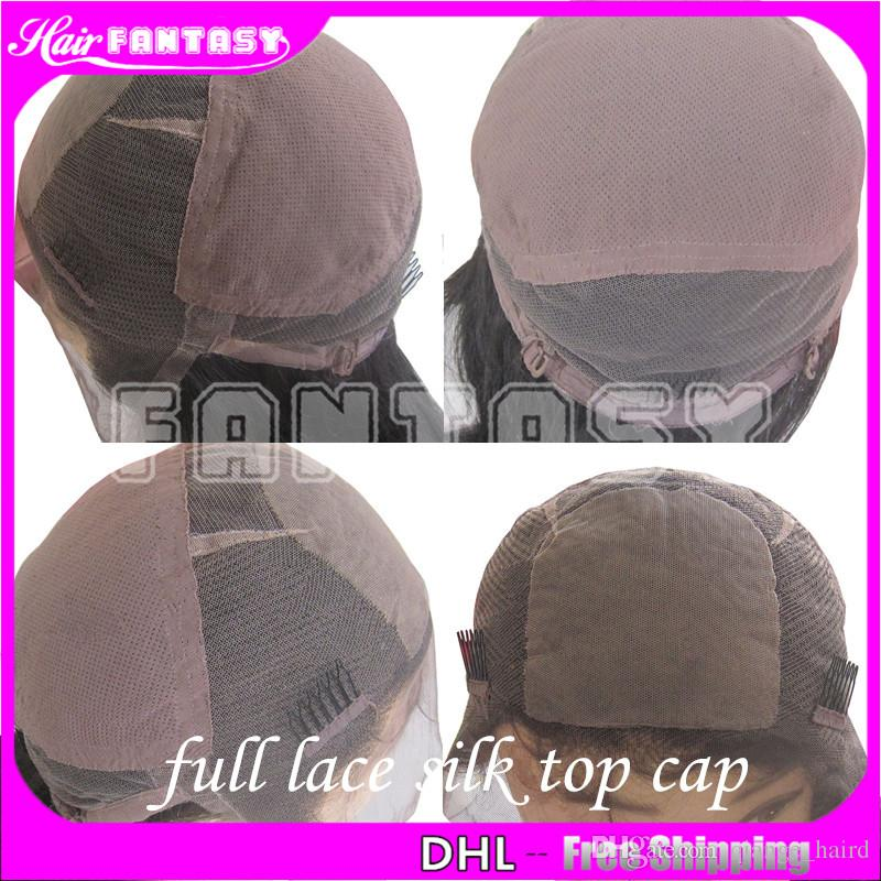 Full Lace Human Hair Wigs For Black Women With Baby Hair 8- 26 Inches Free Part Brazilian Non Remy Lace Hair Wig