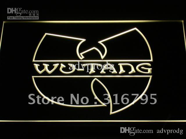 C110 Y Wu Tang Band Logo Beer Bar Neon Light Sign Online With 1458
