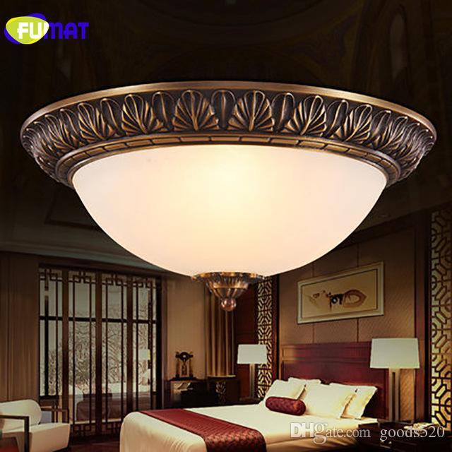 Led Fumat Rétro Européenne Antique Lampe Couloir Vintage Plafonnier De Luminaire Éclairage Chambre Maison Allée Américain 8NPwO0nkX