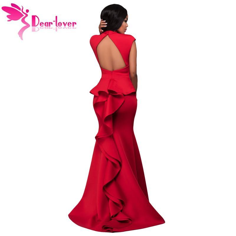 Dear Lover Sexy Party Ever Vestidos De Festa Abendkleider Red High ...