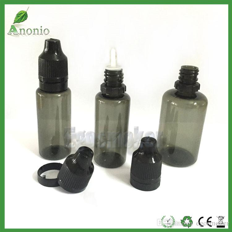 5ml 10ml 15ml 20m 30ml Tamper Proof Bottles Plastic Dropper Bottle Childproof Tamper Evident Bottles Cap Empty Bottles ELiquid Tamper Bottle