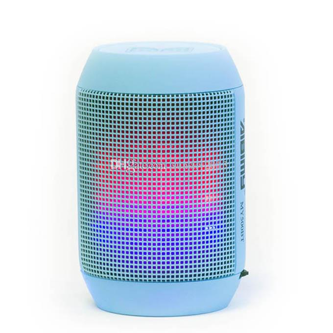 Wireless Bluetooth Mini Speaker 500BT LED Flashing Light Portable Speakers TF USB Disk Music Player Super Bass for Cellphone PC Laptop