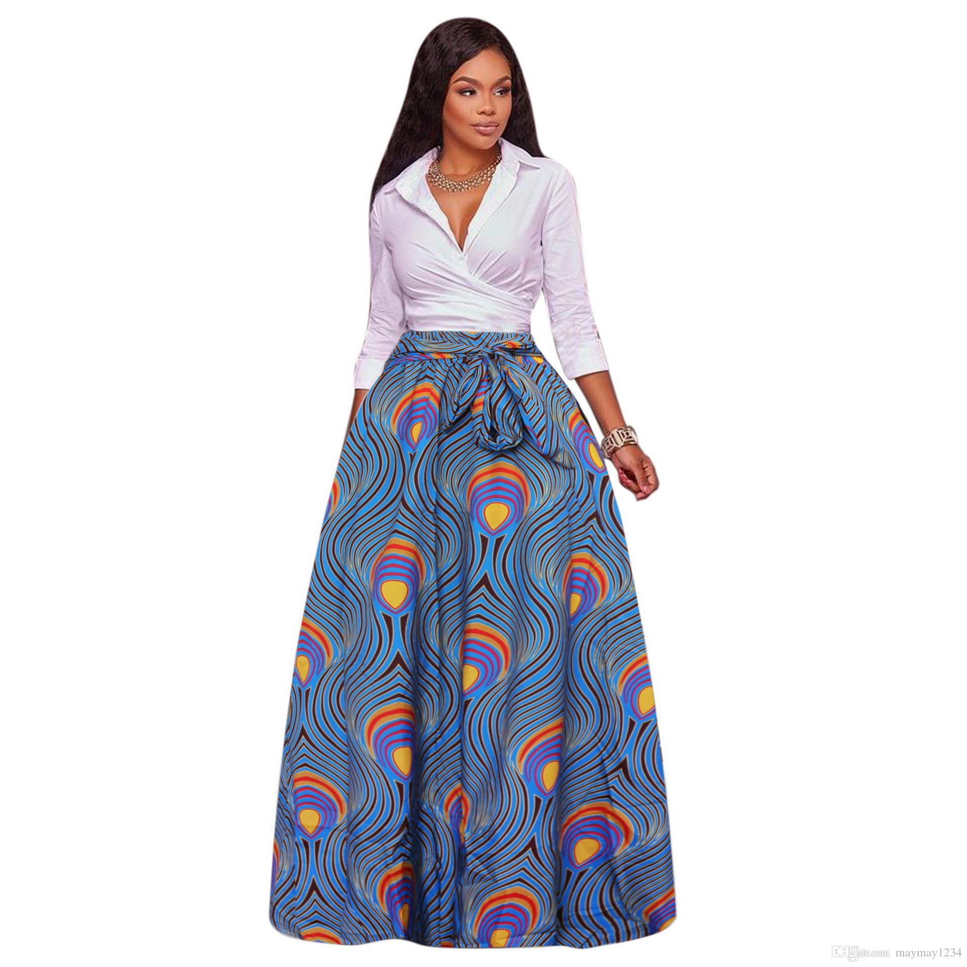 2019 2017 autumn winter african women boho dashiki dresses. Black Bedroom Furniture Sets. Home Design Ideas