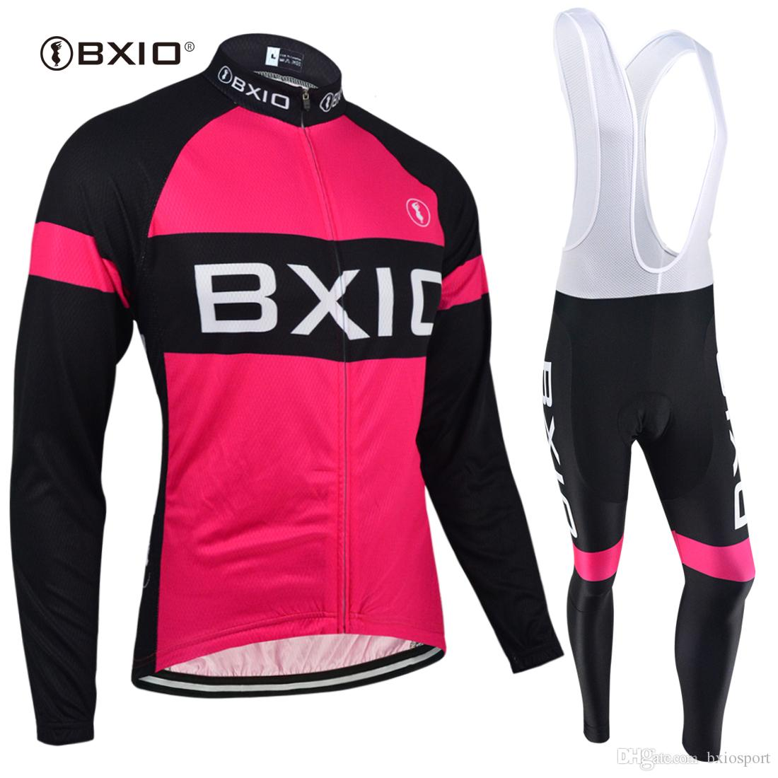 BXIO Cycling Jerseys Set Long Sleeve Winter Cycling Clothing Ropa Ciclismo  Invierno Bike Clothing Autumn Breathable Bicycle Clothing BX 135 Biking  Jerseys ... 83fab1f07